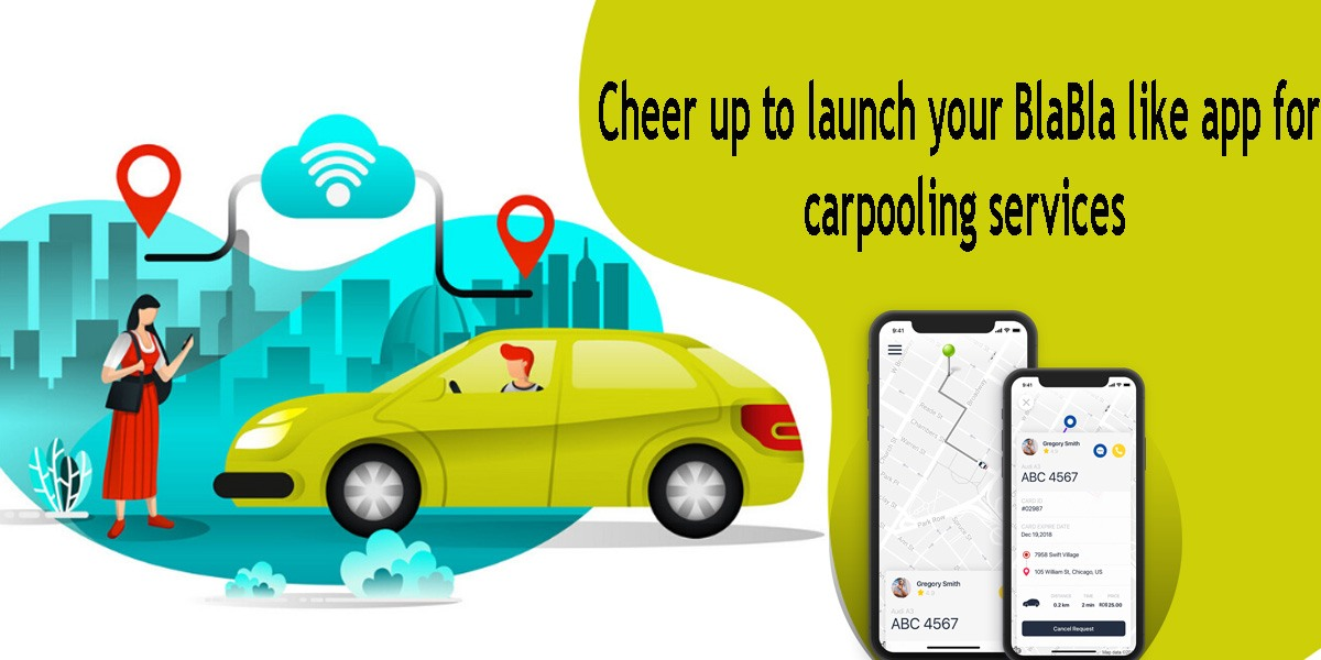Cheer up to launch your BlaBla like app for carpooling services